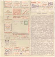 GA Thematik: Anzeigenganzsachen / Advertising Postal Stationery: 1905, Bavaria. Advertising Letter Card - Stamps