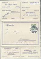 GA Thematik: Anzeigenganzsachen / Advertising Postal Stationery: 1906, German Empire. Advertising Lette - Stamps