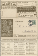 GA Thematik: Anzeigenganzsachen / Advertising Postal Stationery: 1908, German Empire. Advertising Lette - Stamps