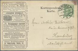 GA Thematik: Anzeigenganzsachen / Advertising Postal Stationery: 1909, Austria. Advertising Postcard 5h - Stamps