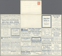 GA Thematik: Anzeigenganzsachen / Advertising Postal Stationery: Deutsches Reich:1921, 40 Pfg. Ganzsach - Stamps