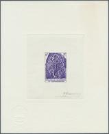 Thematik: Archäologie / Archeology: 1979, NEUKALEDONIEN: Archäologische Stätten 10 Fr. 'Felszeichnun - Archaeology