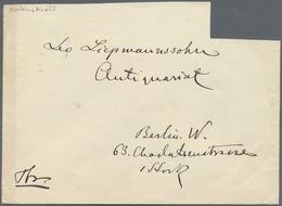 Br Thematik: Arktis / Arctic: 1888, ADOLF ERIK NORDENSKJÖLD, Handwritten Letter (Stockholm, 17 Mars 188 - Polar Philately