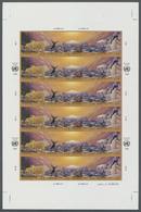 ** Thematik: Arktis & Antarktis / Arctic & Antarctic: 1993, UN Geneva. Pane With 6 Imperforate Strips O - Polar Philately