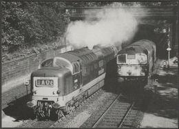 British Rail Diesel-Electric No D9010 The King's Own Scottish Borderer - Steamprint Postcard - Trains