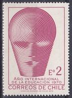 Chile 1970 Organisationen UNESCO UNO ONU Bildung Erziehung Education Schule School, Mi. 734 ** - Chile