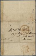 Br Thematik: Ballon-Luftfahrt / Balloon-aviation: 1841, Großbritannien, GYPSON. R., (bekannter Engl. Ae - Trees