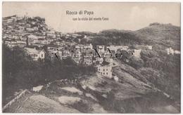 RM96 !!! ROCCA DI PAPA PANORAMA CON VISTA DEL MONTE CAVO 1908 F.P. !!! - Italia