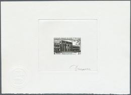 Thematik: Bauwerke / Buildings, Edifice: 1969, AFAR Und ISSA: Öffentliche Gebäude 2 Fr. 'Gerichtsgeb - Architecture