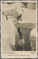 """Br Thematik: Bergsteigen / Mountaineering: 1934, Dt. Reich. Foto-Ansichtskarte """"Deutsche Himalaya-Exped - Climbing"""