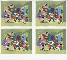 ** Thematik: Comics / Comics: 1982, LESOTHO: Christmas Miniature Sheet 'Mickey And Minnie Mouse With Ch - Comics