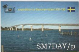 Qsl Suede - Senoren Island - Radio Amatoriale