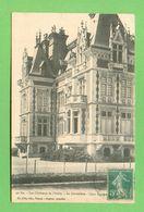 CPA FRANCE 10  ~  CHAOURCE  ~  30 Bis  Château La Cordelière - Cour D'Honneur  ( Gris 1915 )   2 Scans - Chaource