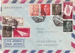 Brief Von Alicante Nach Deutschland (br2993) - 1951-60 Briefe U. Dokumente