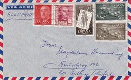 Brief Nach Deutschland (br2998) - 1951-60 Briefe U. Dokumente