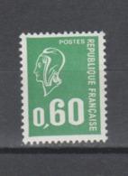 FRANCE / 1974 / Y&T N° 1814 ** : Béquet 60c Typo - Gomme Métropolitaine, Papier Azurant & Avec PHO - Gomme Intacte - France