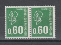 FRANCE / 1974 / Y&T N° 1814 ** : Béquet 60c Typo - Gomme Métropolitaine, Papier Azurant & Avec PHO X 2 - Gomme Intacte - France