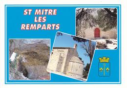 13  SAINT MITRE LES REMPARTS - MULTIVUES AVEC BLASON - Autres Communes