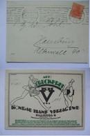 GERMANY - 1920 Postcard With `Konrad Hanf Verlag DWB - Druckerei` Illustration - Germany