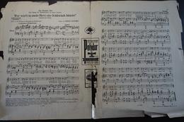 Partiture; Foxtrott; Die Wunderbar; Von Karl Farkas Und Geza Herczeg; 1930 - Noten & Partituren
