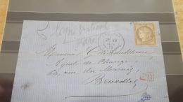 LOT 385563 TIMBRE DE FRANCE OBLITERE - 1871-1875 Ceres