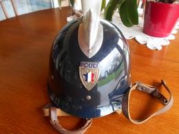 Casque ADRIAN Modèle 1926 De La Préfecture De Police, Années 50 - Headpieces, Headdresses