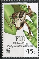 Fiji 1988 45c Frog Issue #594 - Fiji (1970-...)