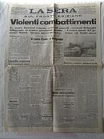 """GIORNALE """"IL SECOLO"""" LA SERA - MERCOLEDI' 11 DICEMBRE 1940-XIX - LEGGI - Livres, BD, Revues"""