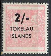 Tokelau 1966 2sh Coat Of Arms Issue #8 - Tokelau