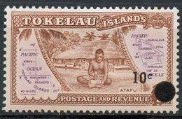Tokelau 1967 10c Map Issue 11 - Tokelau