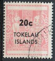 Tokelau 1967 20c Coat Of Arms Issue #15 - Tokelau