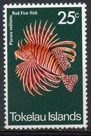 Tokelau 1975 25c Fish Issue #48 - Tokelau