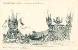 030/30  GAND  - Carte  Illustrée  Cortège Nautique - Embarcation Pour La Musique. No 11 - Gent