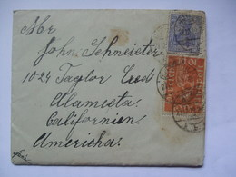 GERMANY - 1919 Entire - Butzbach To California USA - Letter Included - Covers & Documents