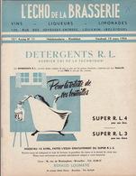 Revue L'ECHO DE LA BRASSERIE Biere Limonade Liqueur - Autres Collections