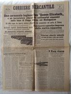 """GIORNALE """"CORRIERE MERCANTILE"""" SECONDA EDIZIONE - GENOVA, VENERDI' 5 GIUGNO 1942-XX - LEGGI - Libri, Riviste, Fumetti"""