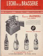 Revue L'ECHO DE LA BRASSERIE Biere Limonade Liqueur - Other