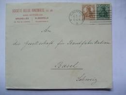 GERMANY - 1917 Cover - Elberfeld To Basel Switzerland - Germania