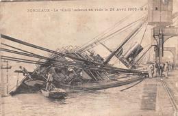 Bordeaux (33) - Le Chili échoué En Rade Le 24 Avril 1903 - Bateau Accident - Bordeaux