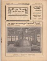 Revue LA PETITE GAZETTE DU BRASSEUR Bière Brasserie 1935 - Other