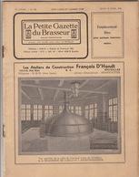 Revue LA PETITE GAZETTE DU BRASSEUR Bière Brasserie 1935 - Andere Sammlungen