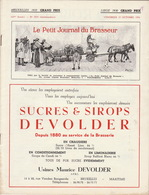 Revue LE PETIT JOURNAL DU BRASSEUR Bière Brasserie - Andere Sammlungen