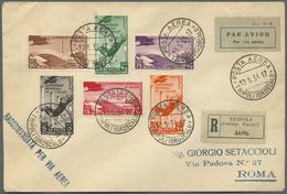Br Thematik: Sport-Fußball / Sport-soccer, Football: 1934, FUSSBALL-WM ITALIEN: Italienische Kolonien, - Soccer