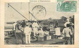 DAHOMEY ET DÉPENDANCES - Appontement De Porto Novo. - Dahomey