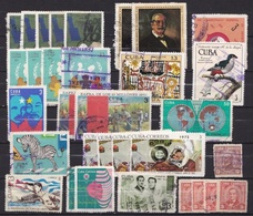 Duplicated Used Lot With Some Topics As Shown On Scan - Cuba