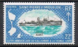 SAINT-PIERRE-ET-MIQUELON N°414 N* - St.Pierre & Miquelon