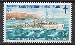 SAINT-PIERRE-ET-MIQUELON N°415 N* - St.Pierre & Miquelon