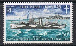 SAINT-PIERRE-ET-MIQUELON N°416 N* - St.Pierre & Miquelon