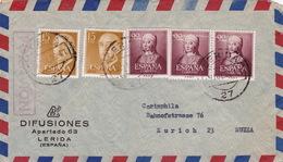 Brief Von Merida Nach In Die Schweiz (br3003) - 1951-60 Briefe U. Dokumente