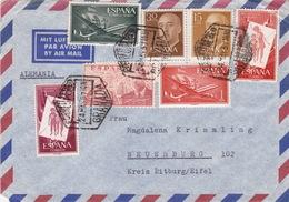 Brief Von Granada Nach Deutschland (br3005) - 1951-60 Briefe U. Dokumente